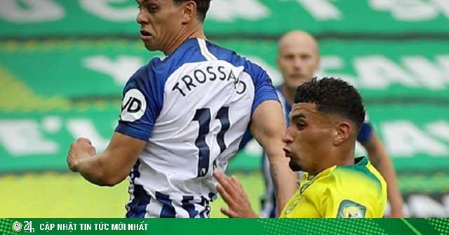 Video highlight trận Norwich – Brighton: Ghi bàn như điện xẹt, bùng nổ cuối hiệp (H1)