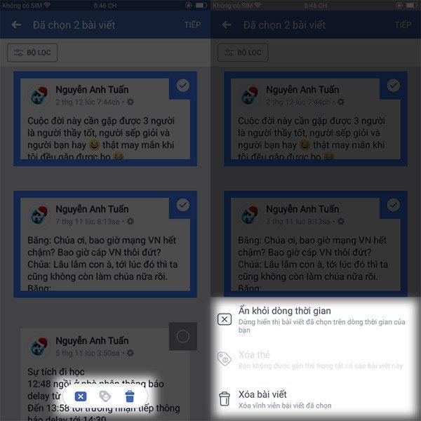 Thủ thuật xóa hàng loạt bài đăng trên Facebook - 3