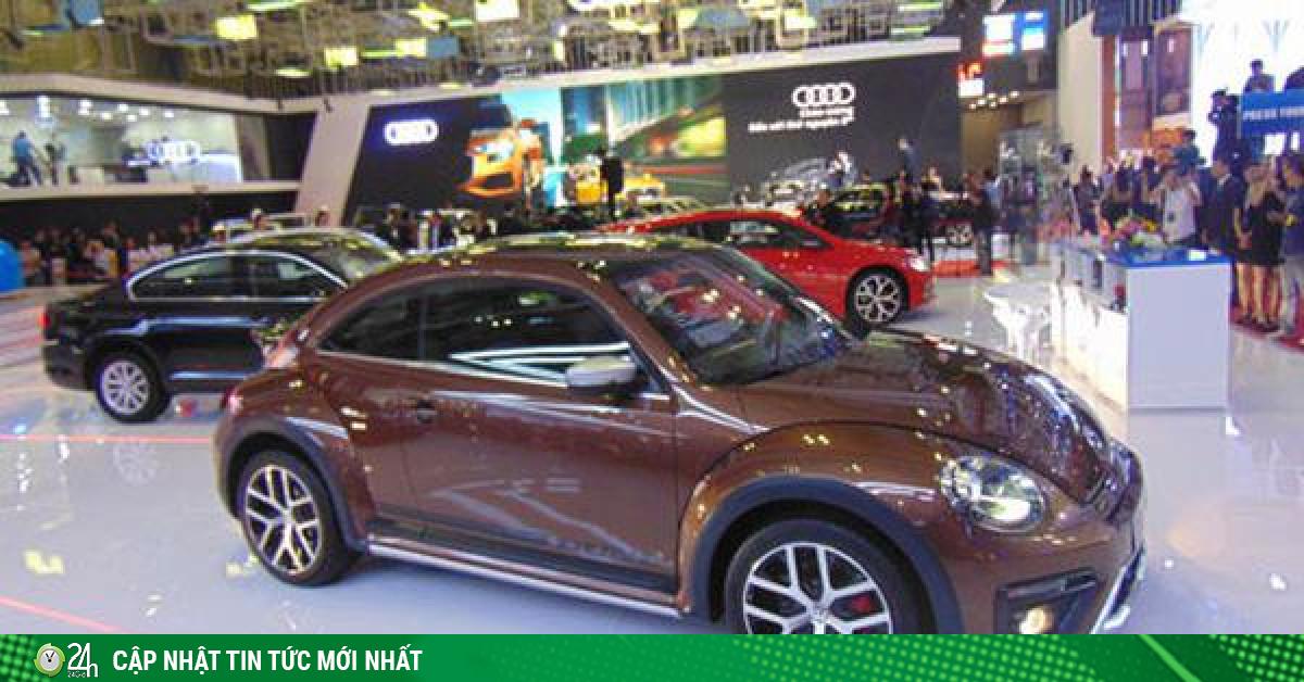 Ô tô ngoại đòi giảm lệ phí trước bạ