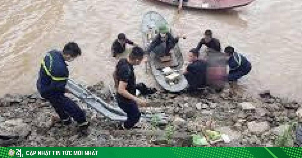 Thương tâm thi thể 3 mẹ con nổi trên sông Thương