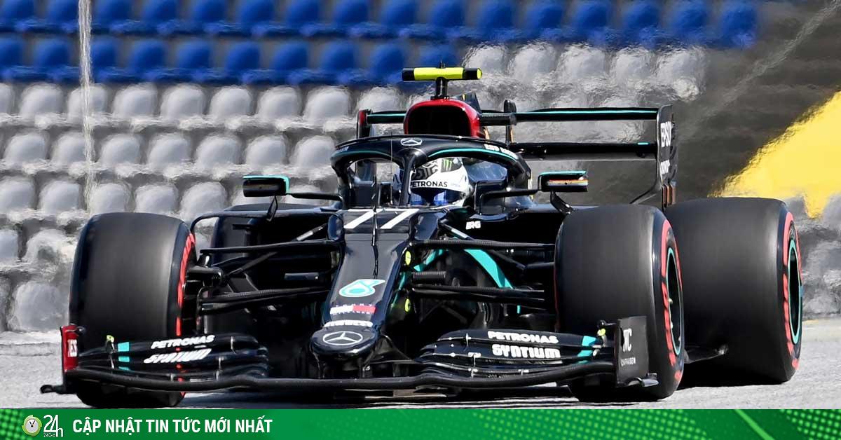 Đua xe F1 trở lại, phân hạng Austrian GP: Valtteri Botttas đoạt pole, ai chơi lại Mercedes?