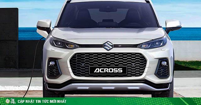 Suzuki ra mắt mẫu xe Across có phong cách thiết kế hao hao Toyota RAV4 mới