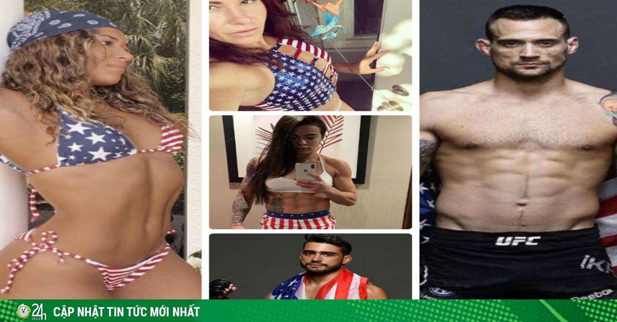 Dàn võ sĩ UFC chào mừng Quốc khánh Mỹ theo cách đặc biệt
