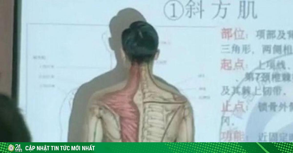 Thầy giáo có tâm nhất hệ mặt trời: Cởi áo lấy thân mình minh họa bài giảng gây sốt mạng