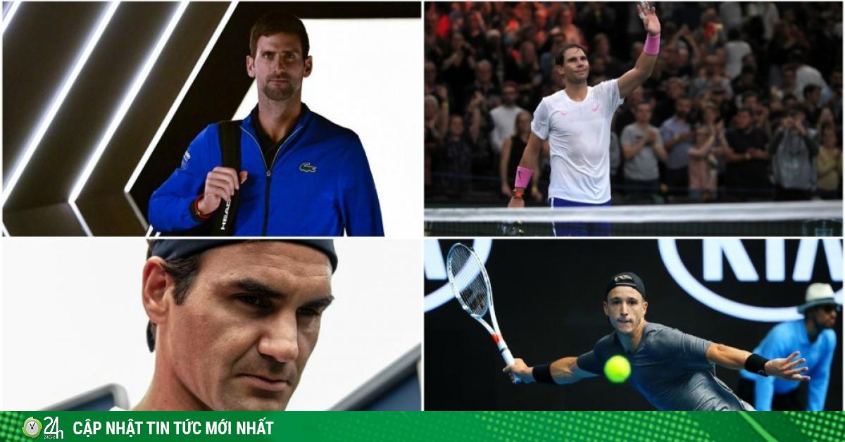 Bộ 3 Federer, Nadal, Djokovic bị tay vợt hạng 204 chỉ trích nặng nề