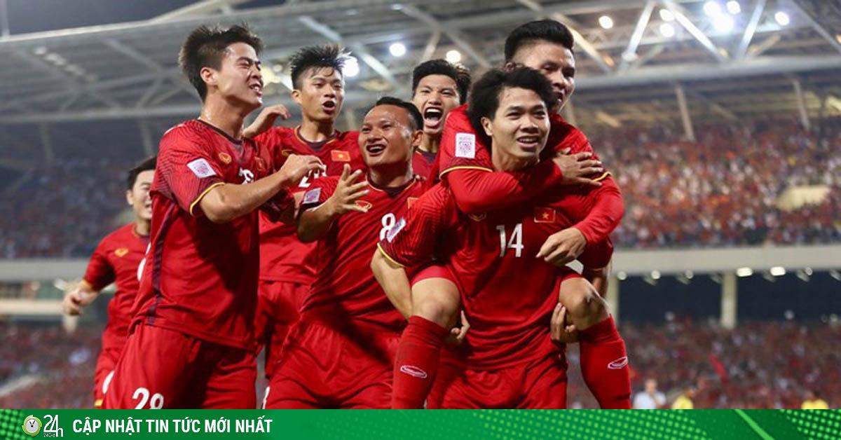 ĐT Việt Nam đứng thứ mấy bảng xếp hạng FIFA, phá top 90 được không?