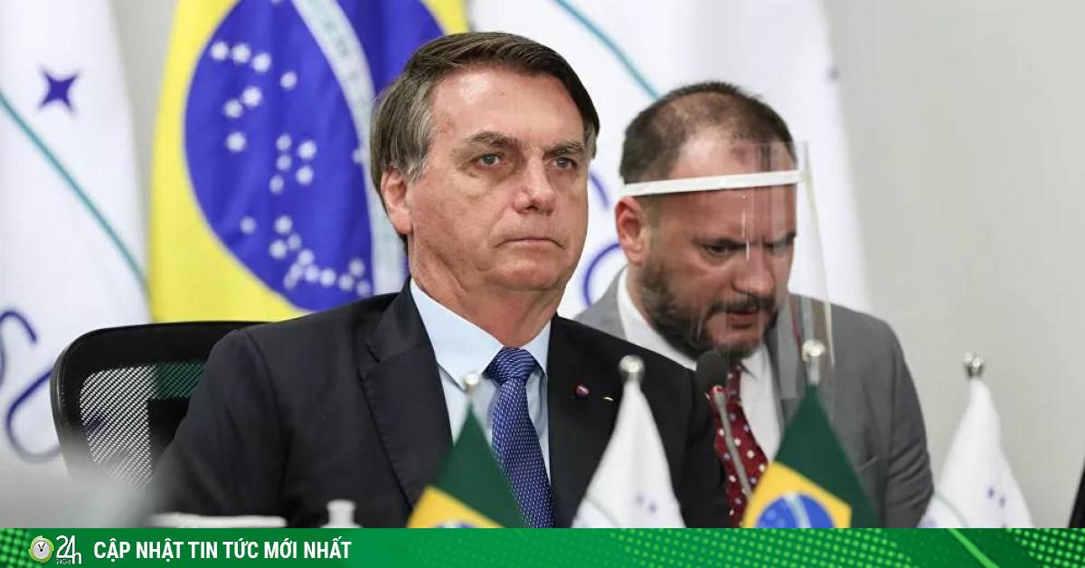 CNN: Tổng thống Brazil có triệu chứng COVID-19, vừa được xét nghiệm