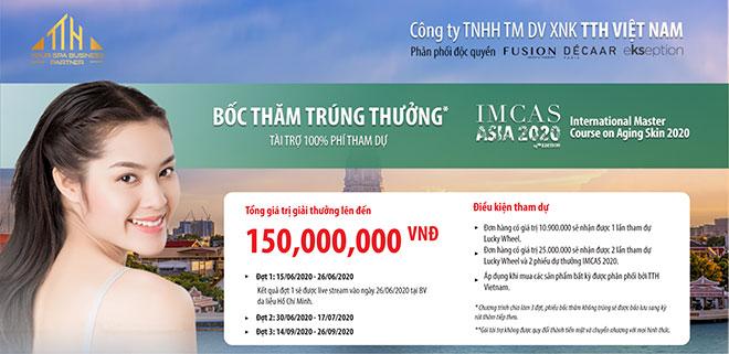 TTH Vietnam tài trợ 100% chi phí cho bác sĩ tham gia IMCAS ASIA 2020 - 3