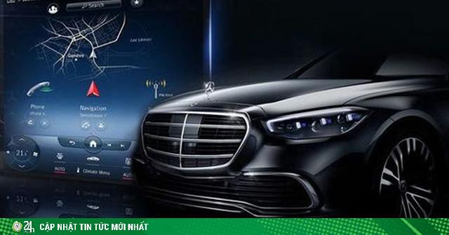 Mercedes S-Class 2021 sẽ có màn hình cảm ứng trung tâm siêu lớn