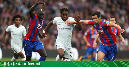 Trực tiếp bóng đá Crystal Palace - Chelsea: Cơ hội vào top 3, áp lực từ MU