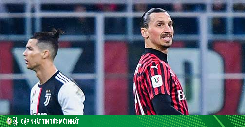 Trực tiếp bóng đá AC Milan - Juventus: Ronaldo & đồng...