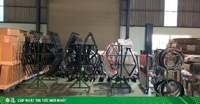 Tịch thu 3.590 xe đạp Trung Quốc giả mạo xuất xứ Việt Nam xuất khẩu đi Mỹ