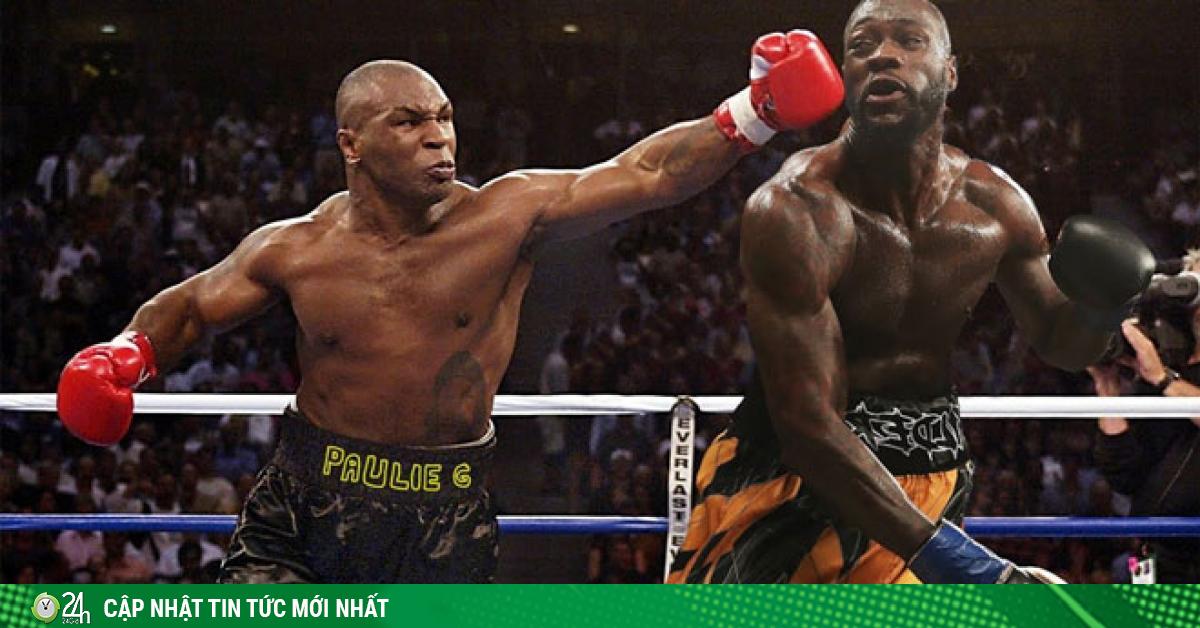 Sững sờ Mike Tyson giảm 31kg vẫn bị Người đồng Wilder coi thường