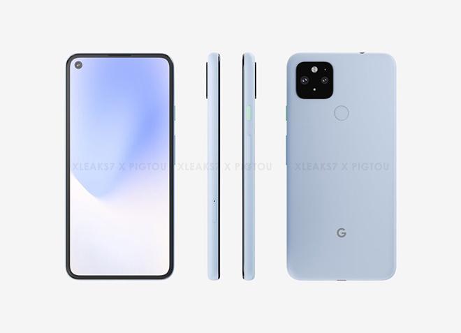 Google Pixel 5: Giao diện quen thuộc với camera selfie duy nhất nhưng được ẩn mình dưới màn hình