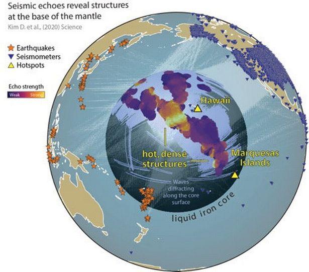 Phát hiện cấu trúc khổng lồ rộng 1.000km, ẩn sâu dưới bề mặt Trái đất - 1