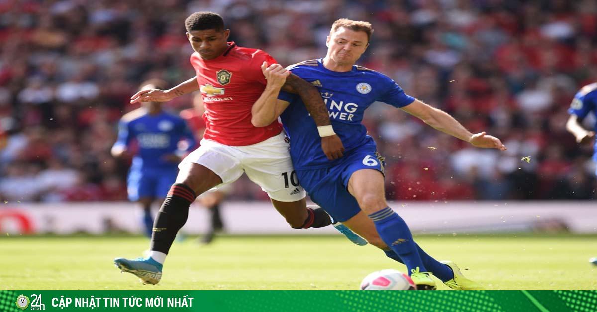 MU đua top 4 Ngoại hạng Anh: Đá chung kết với Leicester khi nào?