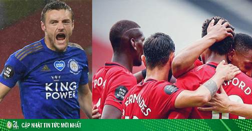 Cực nóng bảng xếp hạng Ngoại hạng Anh: Leicester sảy chân, MU - Chelsea hưởng lợi