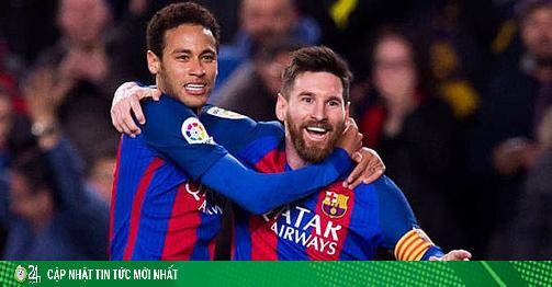 Barca đại loạn vẫn đón tin vui về Neymar: Man City cũng phải ước