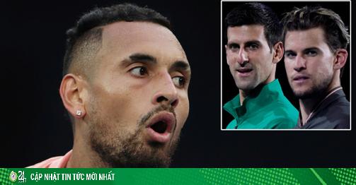 Trai hư Kyrgios chỉ trích cả làng tennis, sau Djokovic là đến ai?