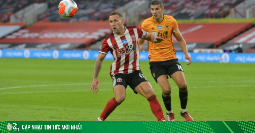 Video highlight trận Sheffield United - Wolves: Ác...
