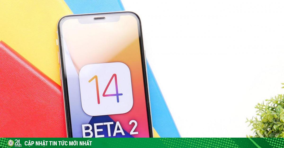 Apple chính thức phát hành iOS 14 beta 2 với nhiều thay đổi