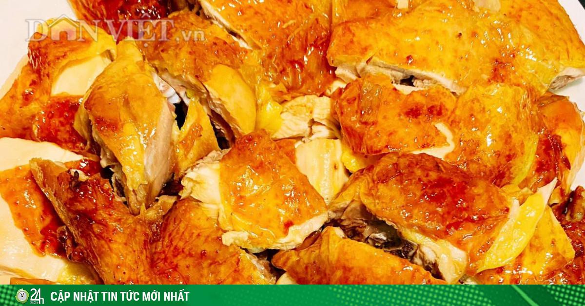 Làm gà nướng mật ong đậm đà, giòn thơm bằng nồi chiên...