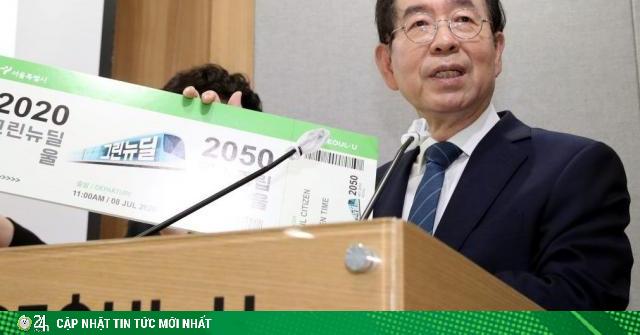 Thị trưởng Seoul đột nhiên mất tích rồi chết bí ẩn