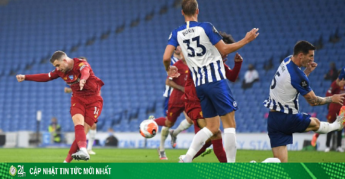 Video highlight trận Brighton - Liverpool: Phủ đầu...