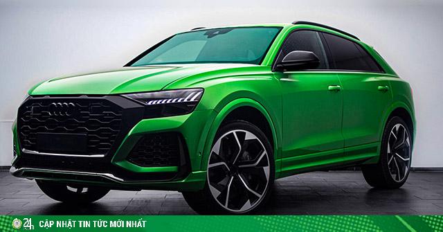Audi tung thêm màu độc cho mẫu xe SUV hiệu suất cao RS Q8
