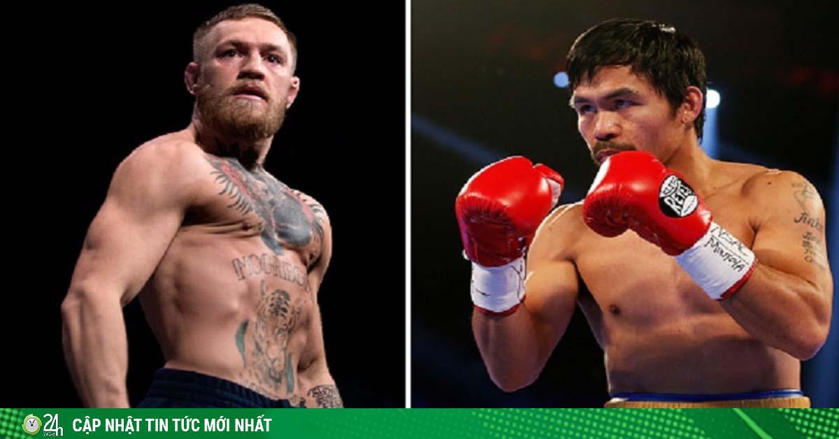 Gã điên McGregor chia tay UFC, mơ đấu Pacquiao kiếm 100 triệu USD