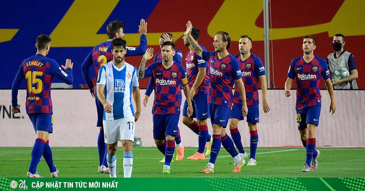 Cực nóng đua vô địch La Liga: Barca chật vật đuổi Real,...