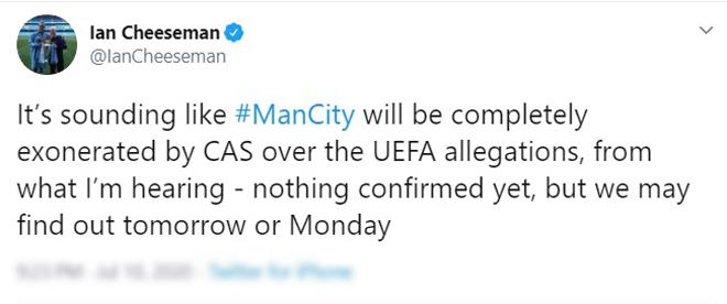 Lộ kết quả Man City kháng cáo thành công, MU - Chelsea phải kịch chiến vé C1 - 1