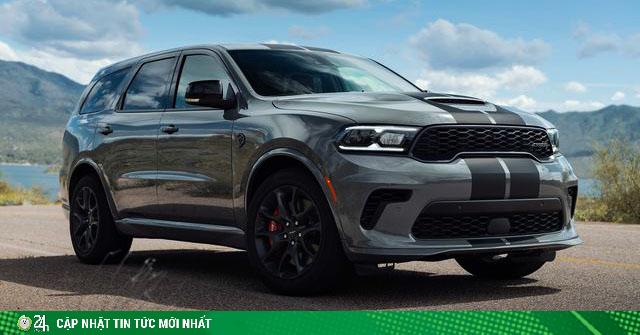 Xe SUV Dodge Durango SRT Hellcat có công suất hơn 700 mã lực xuất hiện