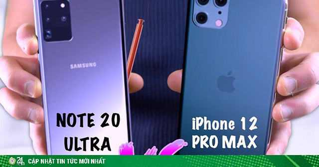 Video: So sánh concept Galaxy Note 20 Ultra và iPhone 12 Pro Max