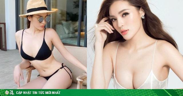 Hoa hậu siêu giàu có vòng 1 sexy nhất Vbiz, suýt bị tước vương miện vì hút thuốc trong bar