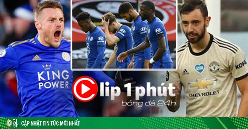 Kịch bản MU bắt tay Leicester, đẩy Chelsea khỏi top 4 ra sao? (Clip 1 phút Bóng đá 24H)