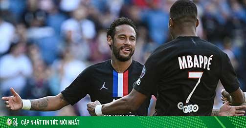 PSG đại hủy diệt 9 bàn ngày trở lại, Neymar ghi siêu phẩm solo