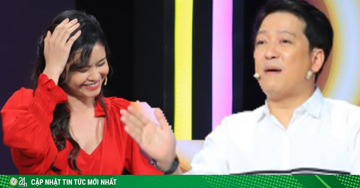 Trương Quỳnh Anh đòi bỏ về giữa gameshow vì bị Trường Giang trêu chọc