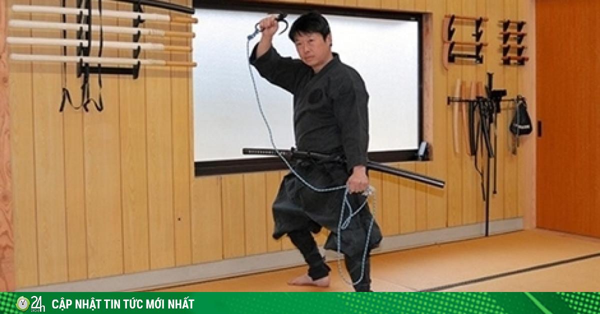 Đại học Nhật Bản lần đầu tiên cấp bằng đào tạo về...ninja