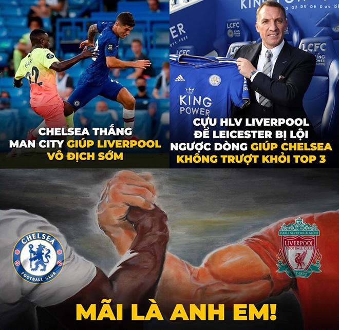"""Ảnh chế: Chelsea và Leicester """"ngã ngựa"""", Man Utd thẳng tiến top 3 - 2"""