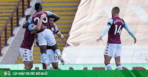 Video highlight trận Aston Villa - Crystal Palace: Cú đúp cứu giá, tạm thoát xuống hạng