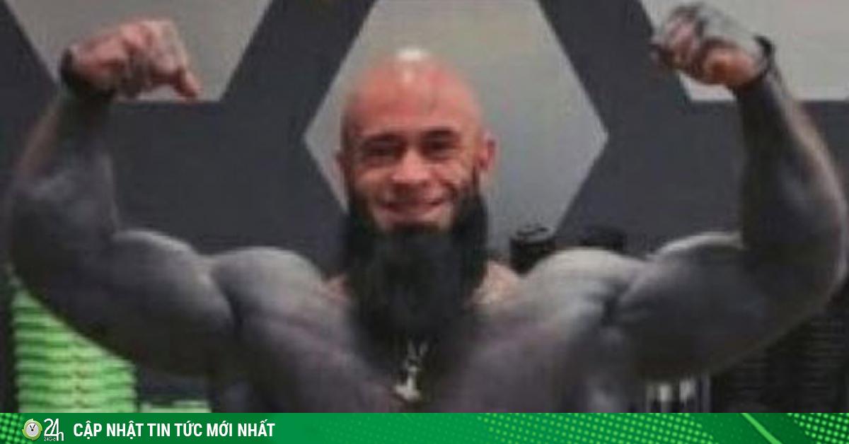 Lực sĩ cơ bắp vạm vỡ xăm đen toàn thân, trông đáng...