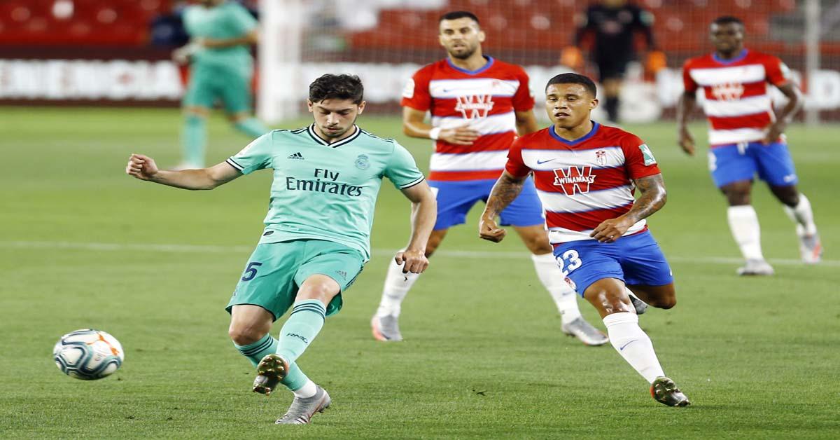 Video highlight trận Granada - Real Madrid: 3 điểm nghẹt thở, tiến sát ngôi vương