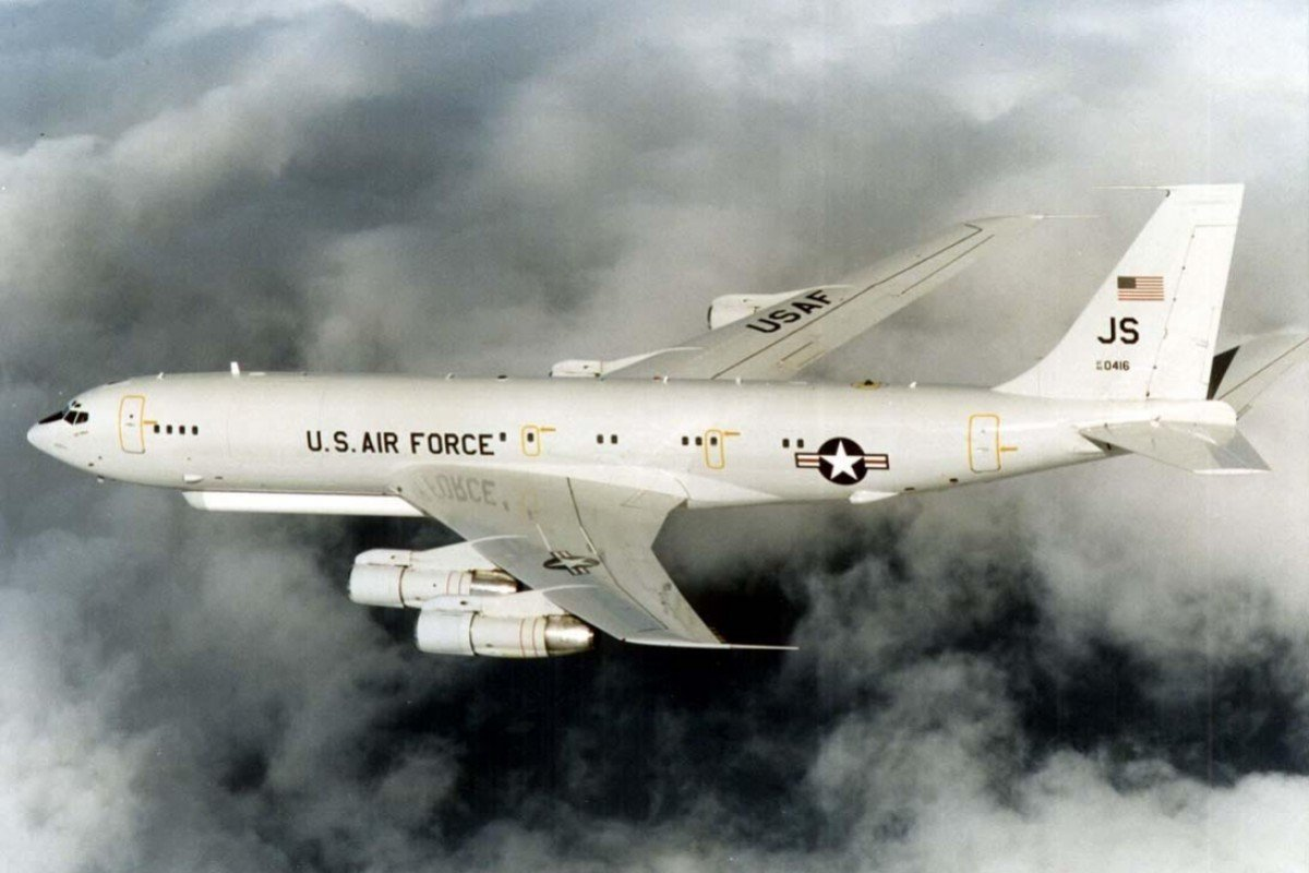 Máy bay quân sự Mỹ áp sát Trung Quốc ở khoảng cách 110km