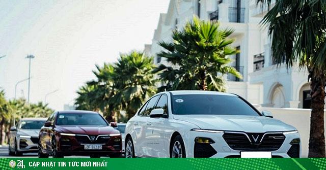 Doanh số bán hàng của VinFast trong tháng 6/2020 đạt 2.170 xe