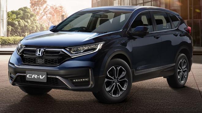 Honda CR-V 2020 ra mắt giá từ 1 tỷ VND, đợi ngày về Việt Nam