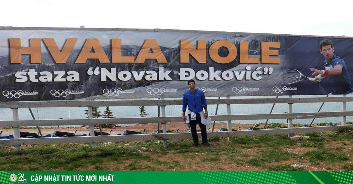 Tin thể thao HOT 17/7: Khỏi Covid-19, Djokovic đi du lịch Bosnia