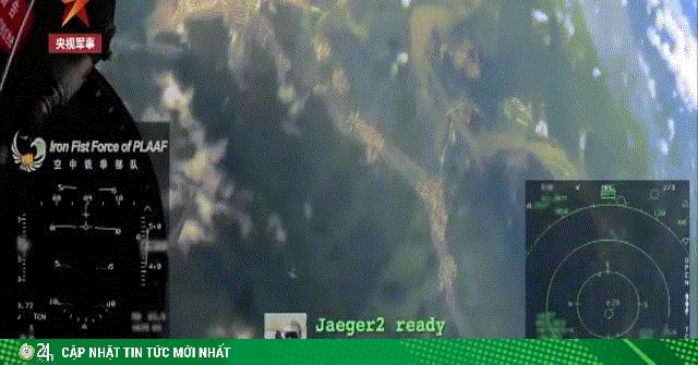 TQ tung video chiến đấu cơ J-10 không chiến giữa căng thẳng với Mỹ