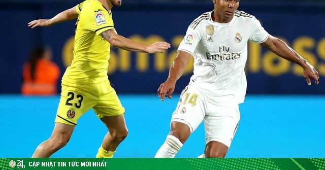 Trực tiếp bóng đá Real Madrid - Villarreal: Giành chiến thắng để đăng quang