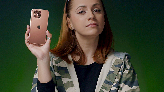 """""""Anh cả"""" iPhone 12 Pro Max khiến tất cả ngỡ ngàng trong video concept mới - 1"""